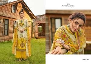 Mumtaz arts rangon 1001-1010 series 5500 + 5% Gst Extra ki duniya lavanya pakistani lawn digital print salwar suit catalog