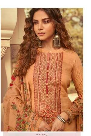 mumtaz arts Mairaa nx 1002-1006 series 2660 + 5% Gst Extra lawn dupatta decent embroidary salwar suit catalog