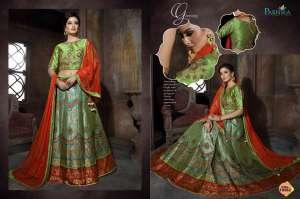 Parnika presents TAABIIR 10562-10568 Series stylish trendy look crop top with skirt lehengha Concept