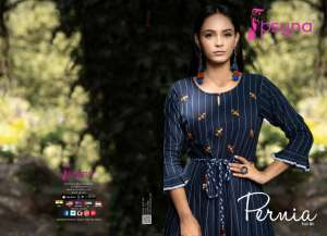 PSYNA PERNIA 1001-1005 series 3750 + 5% Gst Extra COTTON ATTRECTIVE LOOK AND COLOURS MIDIS CATALOG