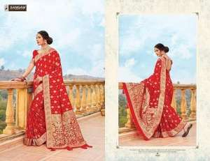 Sangam Prints RED ROSE 1001
