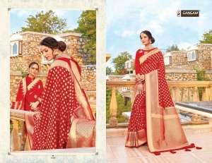 Sangam Prints RED ROSE 1002