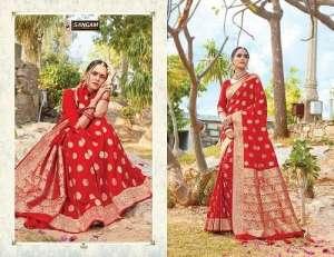 Sangam Prints RED ROSE 1003