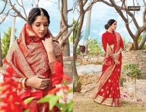 Sangam Prints RED ROSE 1005