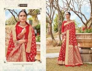 Sangam Prints RED ROSE 1006