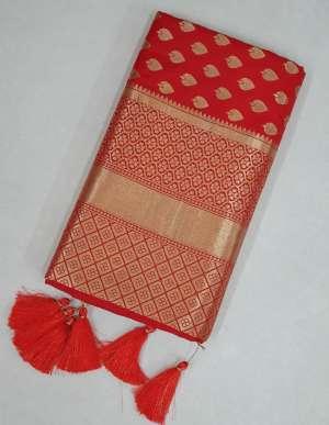 Sangam Prints RED ROSE 1008