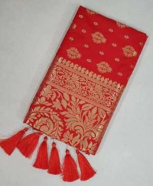 Sangam Prints RED ROSE 1009