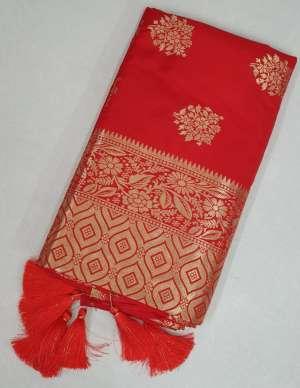 Sangam Prints RED ROSE 1010
