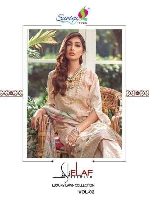 saniya trendz elaaf vol 2 19004-19007 series 4396 + 5% Gst Extra cotton authentic fabric salwar suit catalog