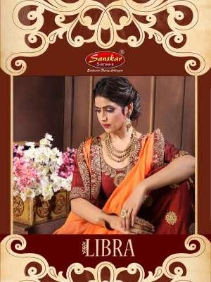 Sanskar presents libra 3816-3824 Series festival season tradition wedding collection of lehenga