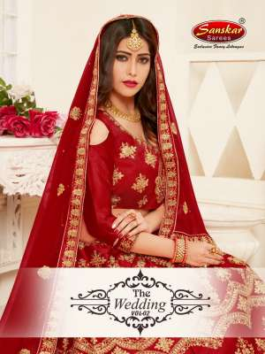 SanskarSareespresents the wedding Vol 2 3852-3857 Series Traditional ethnic Wedding season lehenga collection