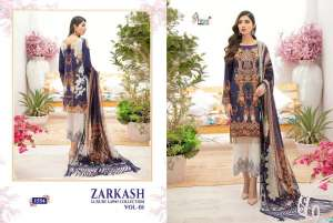 shree fab ZARKASH LUXURY LAWN COLLECTION VOL 01 WITH COTTON DUPATTA 1555