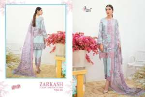 shree fab ZARKASH LUXURY LAWN COLLECTION VOL 01 WITH COTTON DUPATTA 1557