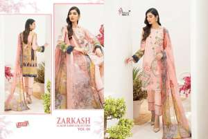 shree fab ZARKASH LUXURY LAWN COLLECTION VOL 01 WITH COTTON DUPATTA 1560