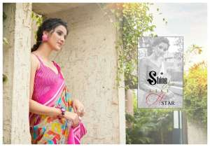 shreyans fashion linen boutique 01-12 series 4500 + 5% Gst Extra casual wear cotton linen saree at lowest rate