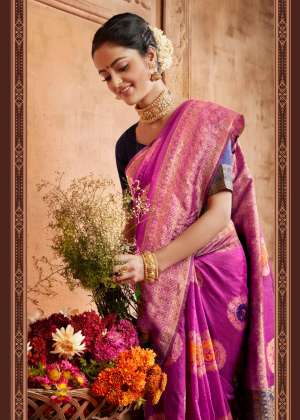 siddharth silk mills leo silk part 1 901-906 series 5700 + 5% Gst Extra cotton fancy saree wholesaler