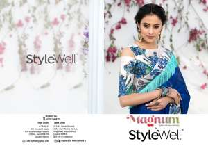 Stylewell launching magnum exclusive collection ofSarees