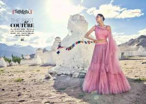 Tathastu Beauty Big Fashion Issue 1-49 Series 306715 + 5% GSt Extra By Tathastu Lehenga For Single Wholesaler Supplier From Surat @ Best Price