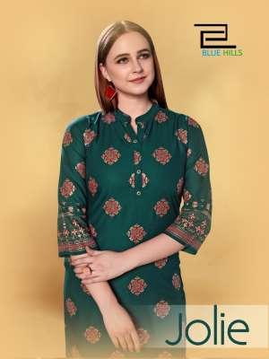vee fab jolie rayon 101-108 series 3128 + 5% Gst Extra affordable price kurti catalog