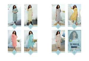 Vinay Fashion marvel kurti with pant 37955