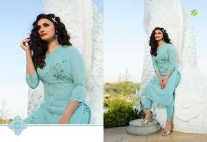 Vinay Fashion marvel kurti with pant 37959