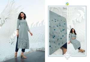 Vinay Fashion marvel kurti with pant 37962