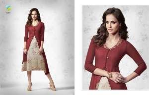 vinay fashion tumbaa 34801-34808 series bombay catchy look kurti catalog