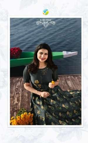 vinay fashion tumbaa 35521-35529 series superstar satin silk exclusive print kurti catalog