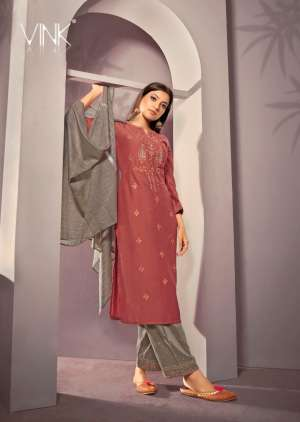 VINK starlight 2 kurti plazzo with dupatta 914