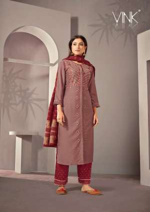 VINK starlight 2 kurti plazzo with dupatta 915