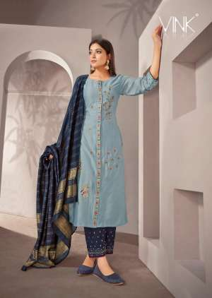 VINK starlight 2 kurti plazzo with dupatta 916
