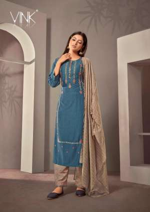 VINK starlight 2 kurti plazzo with dupatta 919