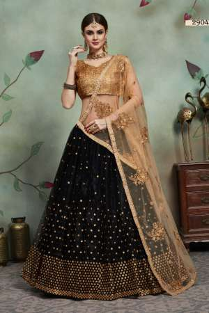 VIRASAT EUPHORIA VOL 2 D NO 2904 NET ASTONISHING STYLE LEHENGA SINGLE PRICE  2899+ 5% G.S.T EXTRA