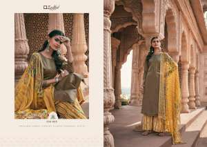 zulfat designer suits PATIALA MAGIC 338-005