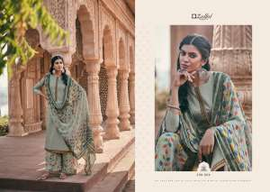 zulfat designer suits PATIALA MAGIC 338-006