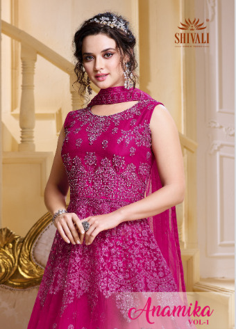SHIVALI ANAMIKA FANCY INNOVATIVE STYLE RATE 15375 + GST + Shipping