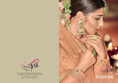 Vouch Rouche Sarara Style Party Wear Series - 101 to 104  Series 9180+ 5% GSt Extra Salwar Kameez Collection
